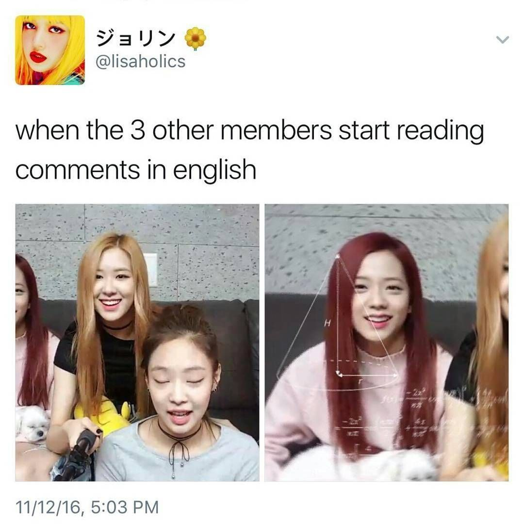 Lol Blackpink With Images Blackpink Memes Blackpink Funny