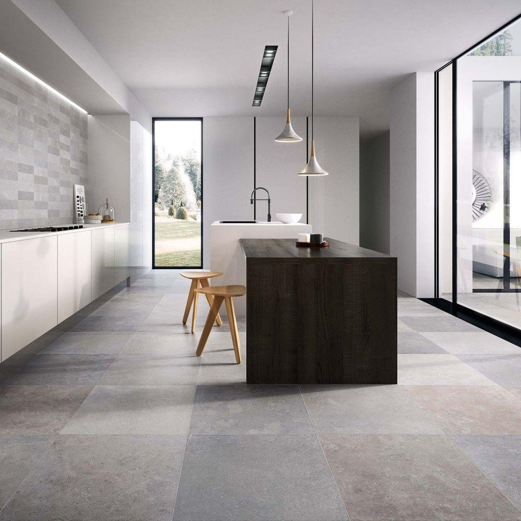 Moderne Vloertegels Woonkamer Keuken 60x60 Flaviker Now | Home ...