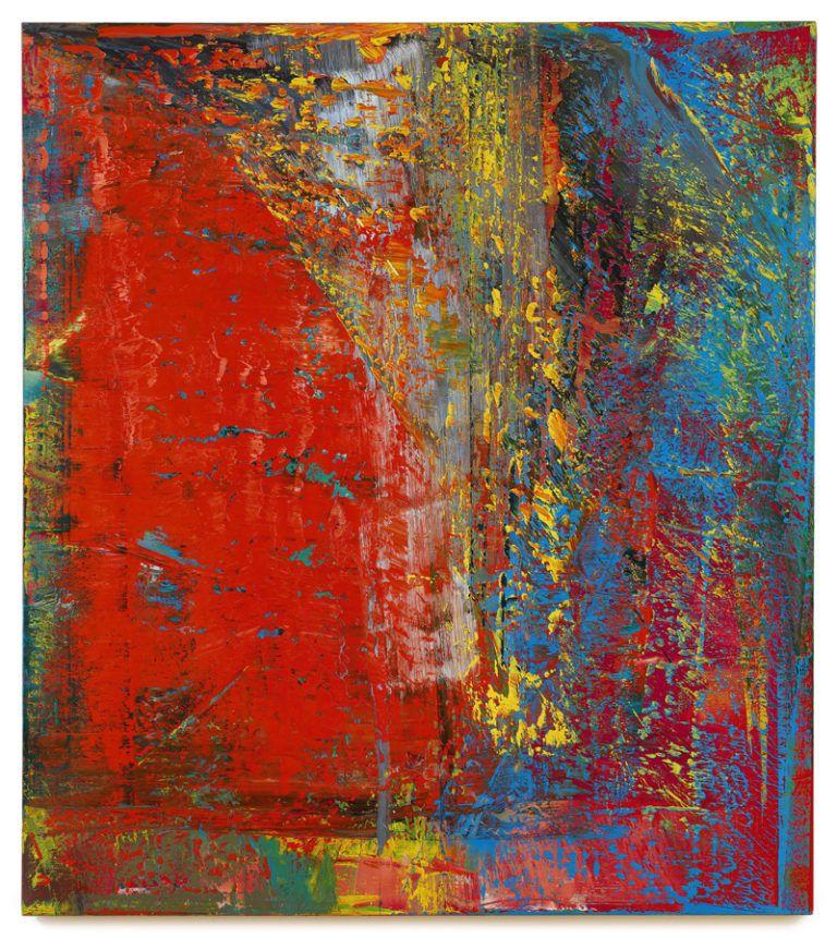 gerhard richter a b still 1986 oil on canvas estimate 20 million 30 realized 34 c 2016 co abstract art wohnzimmer bilder abstrakt gemälde gold
