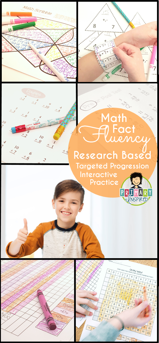 Addition Math Fact Fluency System | Test test, Math facts and Math