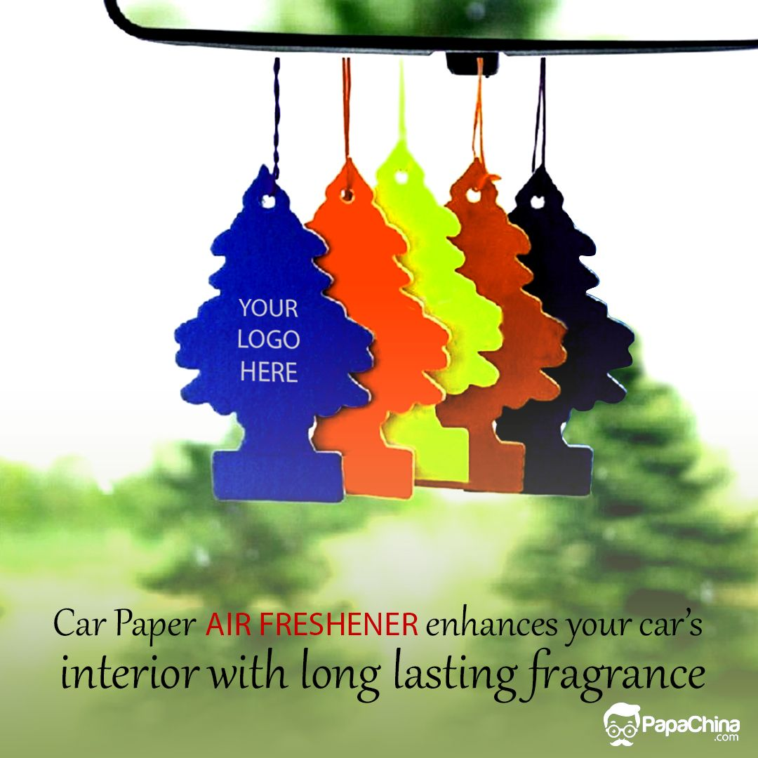 Car paper air freshener enhances your car's interior with