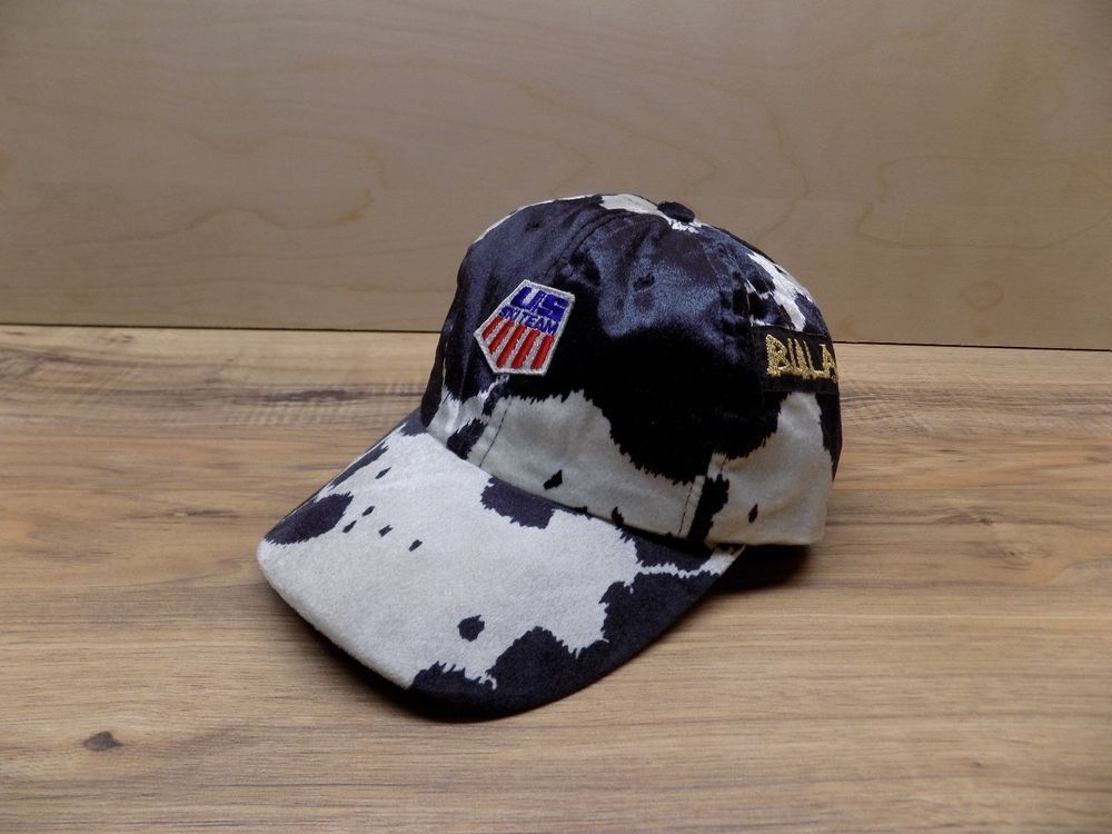 9b0a530af36 Vintage US Ski Team Bula cow print hat! very rare!!  fashion  clothing   shoes  accessories  mensaccessories  hats (ebay link)