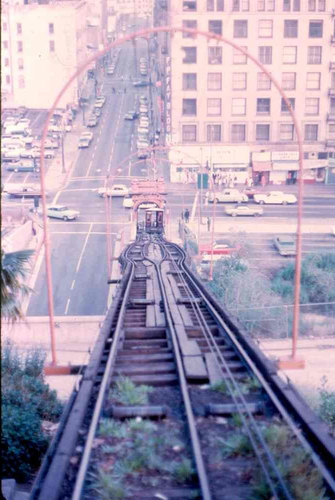 Angels Flight Look Down Los Angeles Travel Los Angeles Architecture Los Angeles History