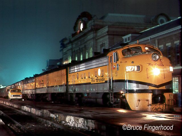 By 1983 only one privately operated passenger train was left in the