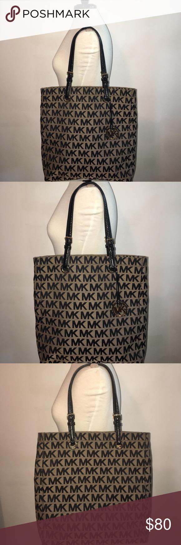 Real Michael Kors Monogram large tote bag. Michael Kors Monogram large tote  bag 399544102941