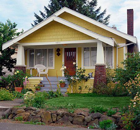 Best 25 bungalow porch ideas on pinterest bungalow for California bungalow vs craftsman