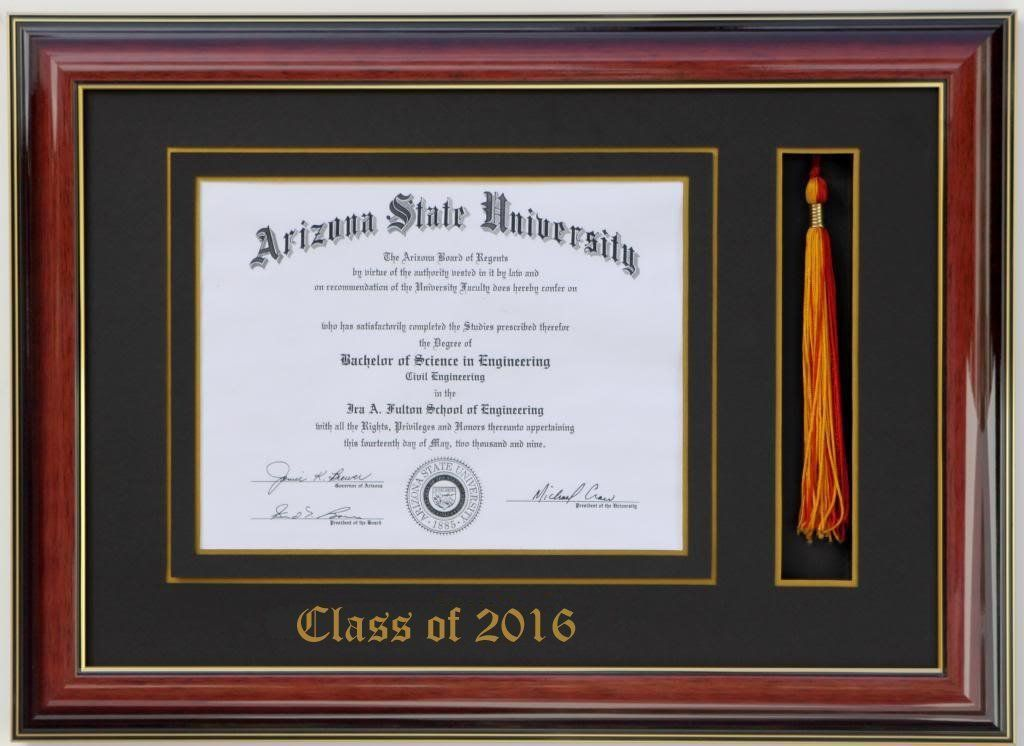 Diploma Tassel Frame 11x8 5 Brandy 2018 Customizable Click On The Image For Additional Details This Is An Affiliate Li Diploma Frame Document Frame Frame