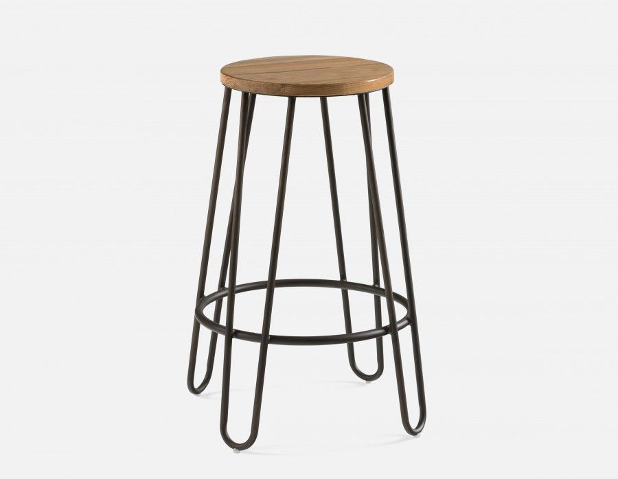 Perfect LARS   Stool 66cm   Graphite Design Inspirations