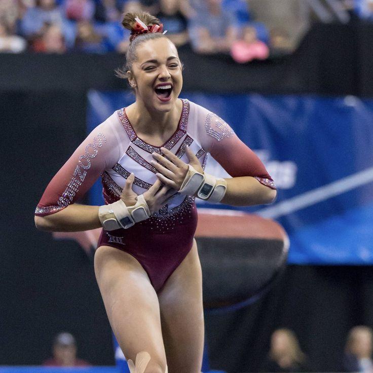 Oklahoma Women's Gymnastics Maggie Nichols 2017 NCAA