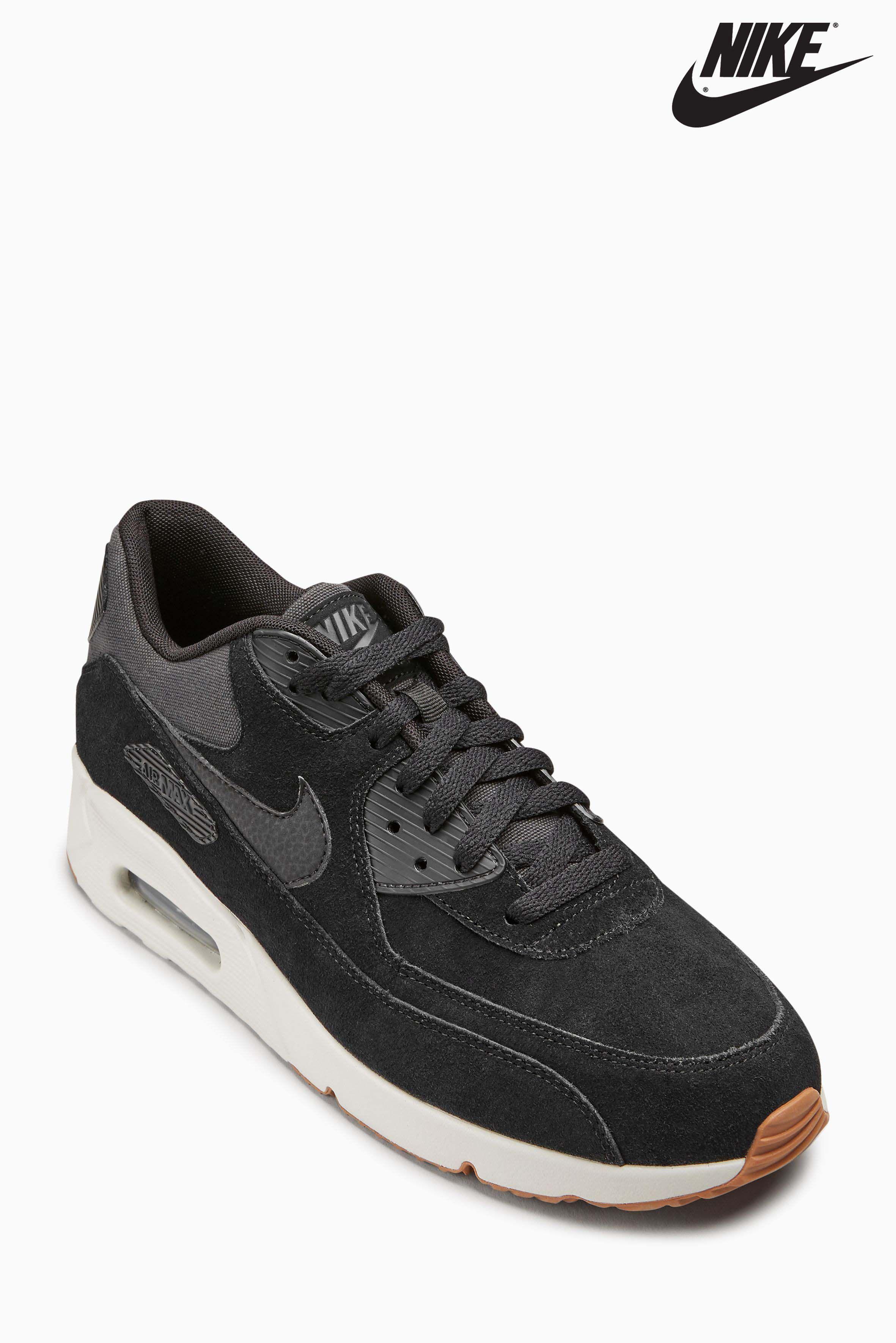 Mens Nike Air Max 90 Ultra - Black