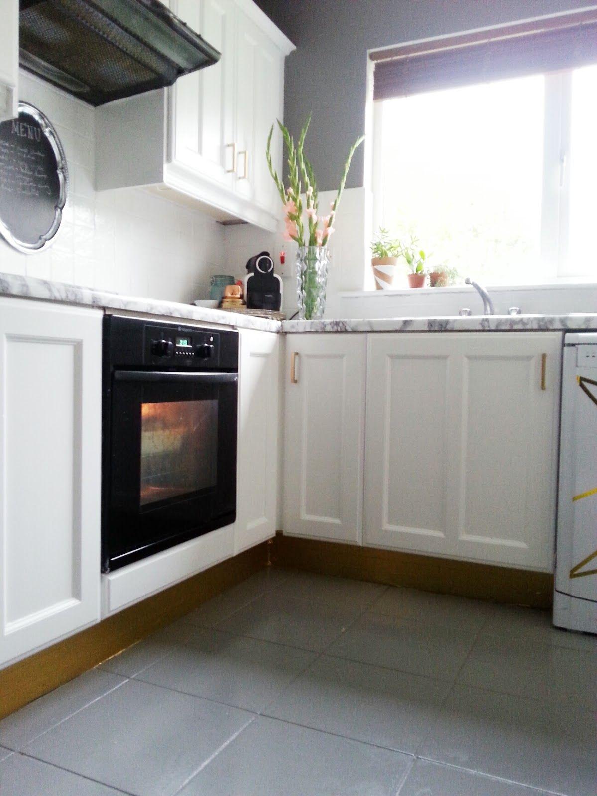 200 euro, one week, full kitchen makeover. Floor
