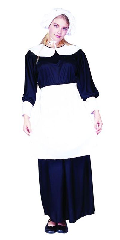 Adult Std. Adult Lady Pilgrim Costume Set