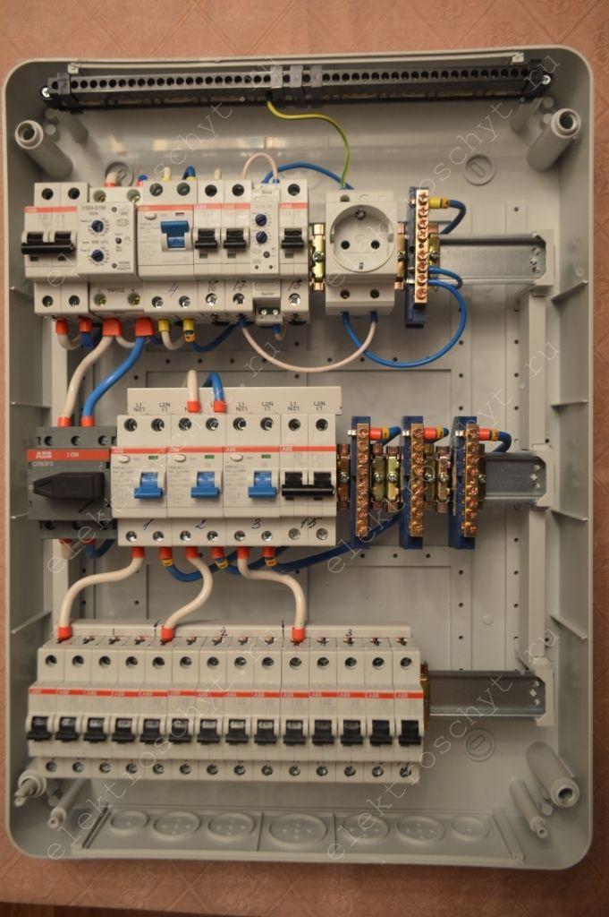 Сборка щита. Фото, описание и цены электрощитов ...