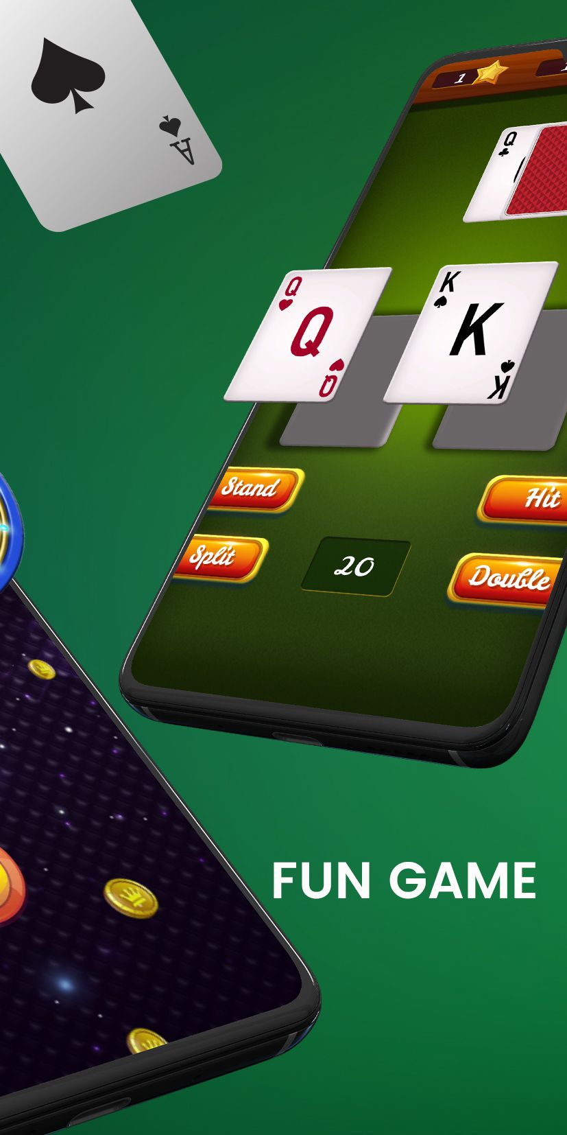 Blackjack 21 casino card game in 2020 casino card game