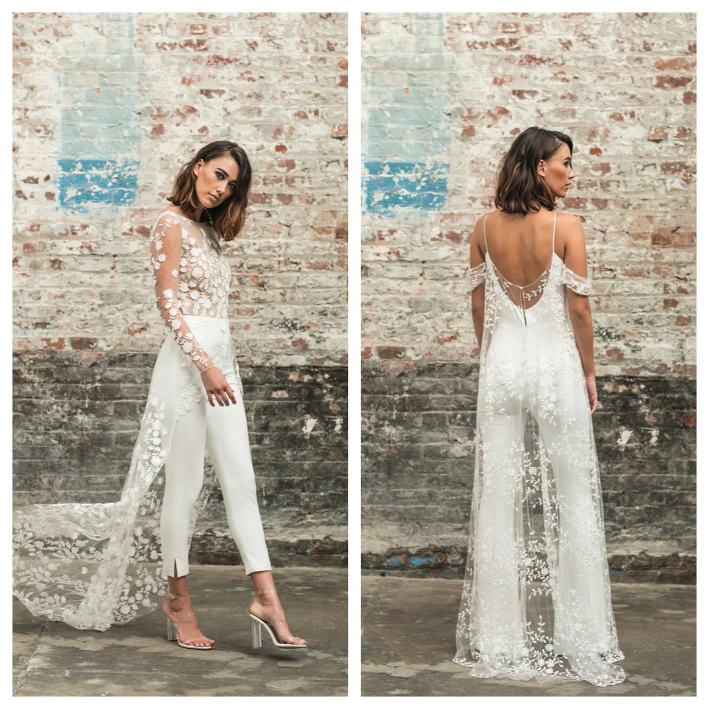 Wedding Jumpsuit, Bridal Jumpsuit