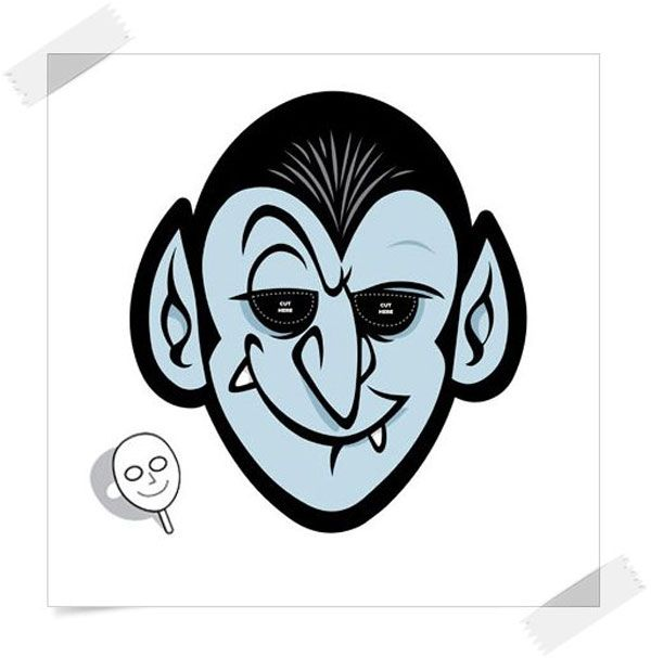 Mascaras Y Decoraciones De Halloween Para Imprimir Gratis