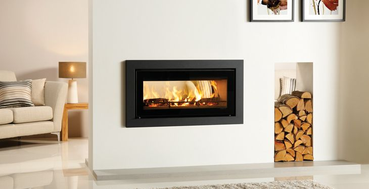 Gazco Studio Duplex Double Sided Gas Fireplace  modern-fireplaces-and-fireplace-accessories - Pictures Of Fireplaces With Built In Wood Boxes Riva Studio