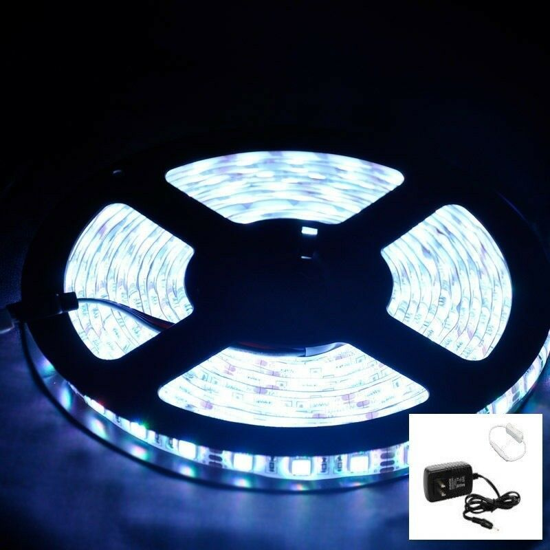Sponsored Ebay Rv Camper 16 Ft White Led Awning Light 12v W Mini White On Off Switch 3528 Led Strip Lighting Strip Lighting Awning Lights
