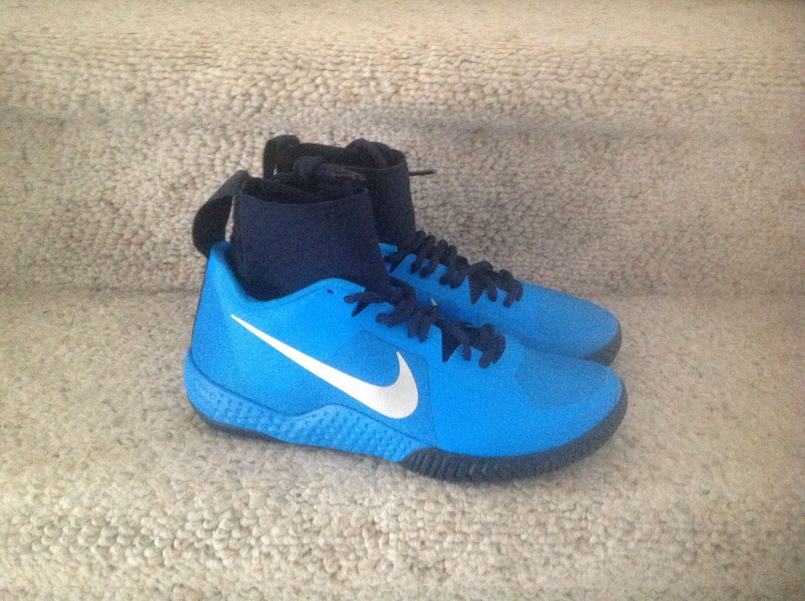 New Sz 7 Women's Nike Flare Tennis Serena Williams Blue Black 810964-404