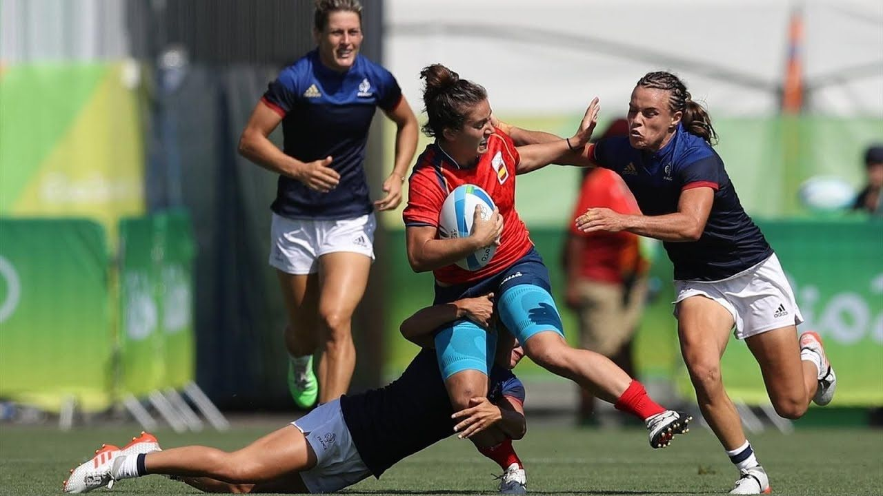 Spain Women Rugby Match Team Hsbc Sevens Series U20 Championship Pacific Womens Rugby Rugby Sevens Rio Olympics
