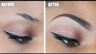 eye brown makeup tutorial