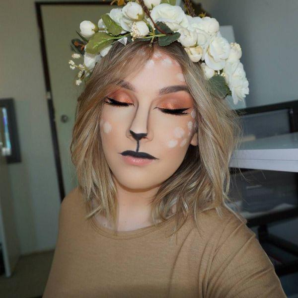 50 Pretty Halloween Makeup Ideas\u2014Minimal Costume Required