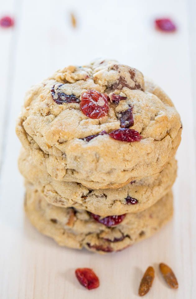 Trail Mix Protein Bar Cookies