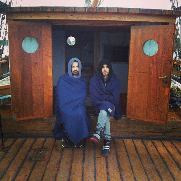 Tomo and Jared form Thirty Seconds to Mars from Finland