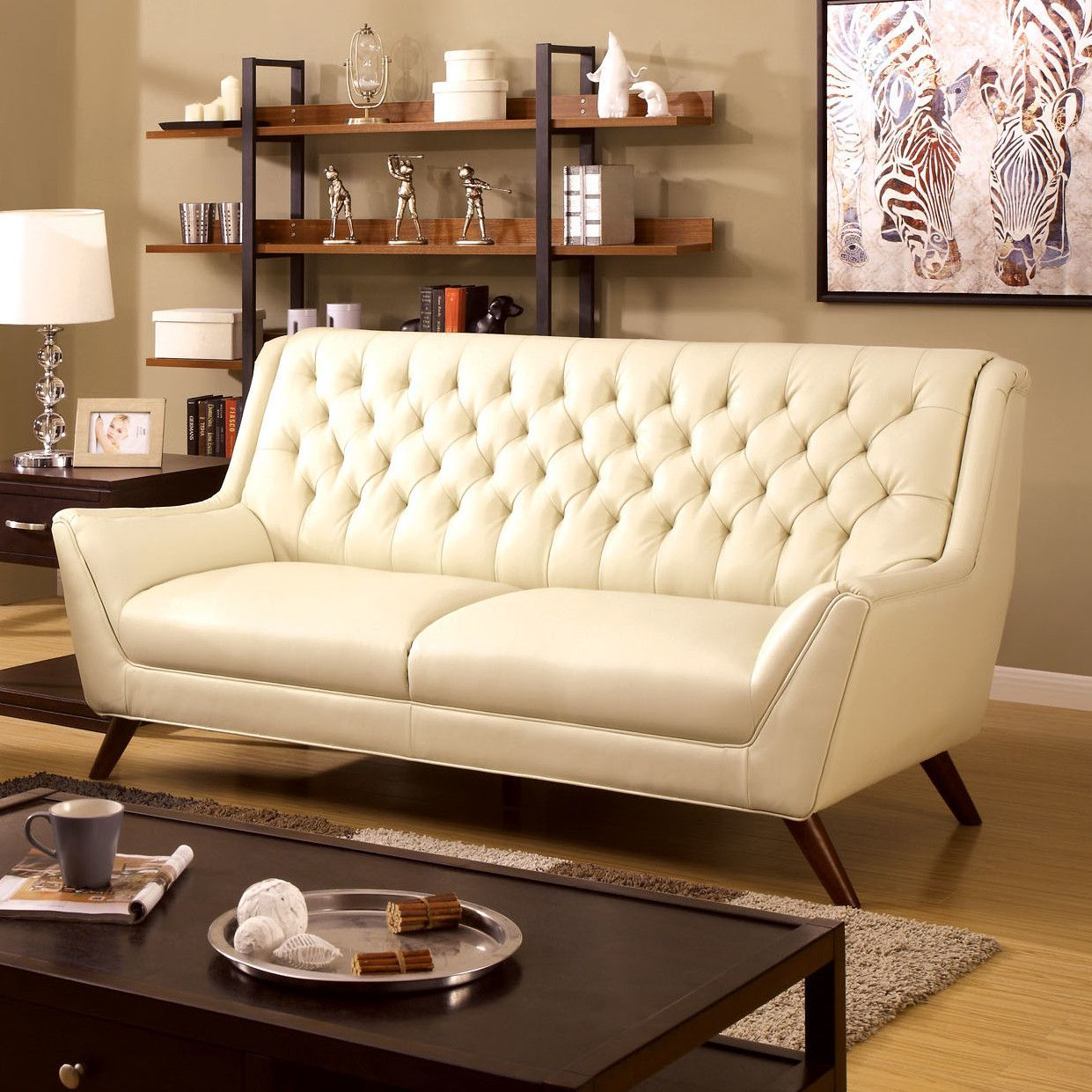 Daine Modern Tufted Sofa