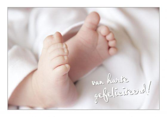 hartelijk gefeliciteerd baby