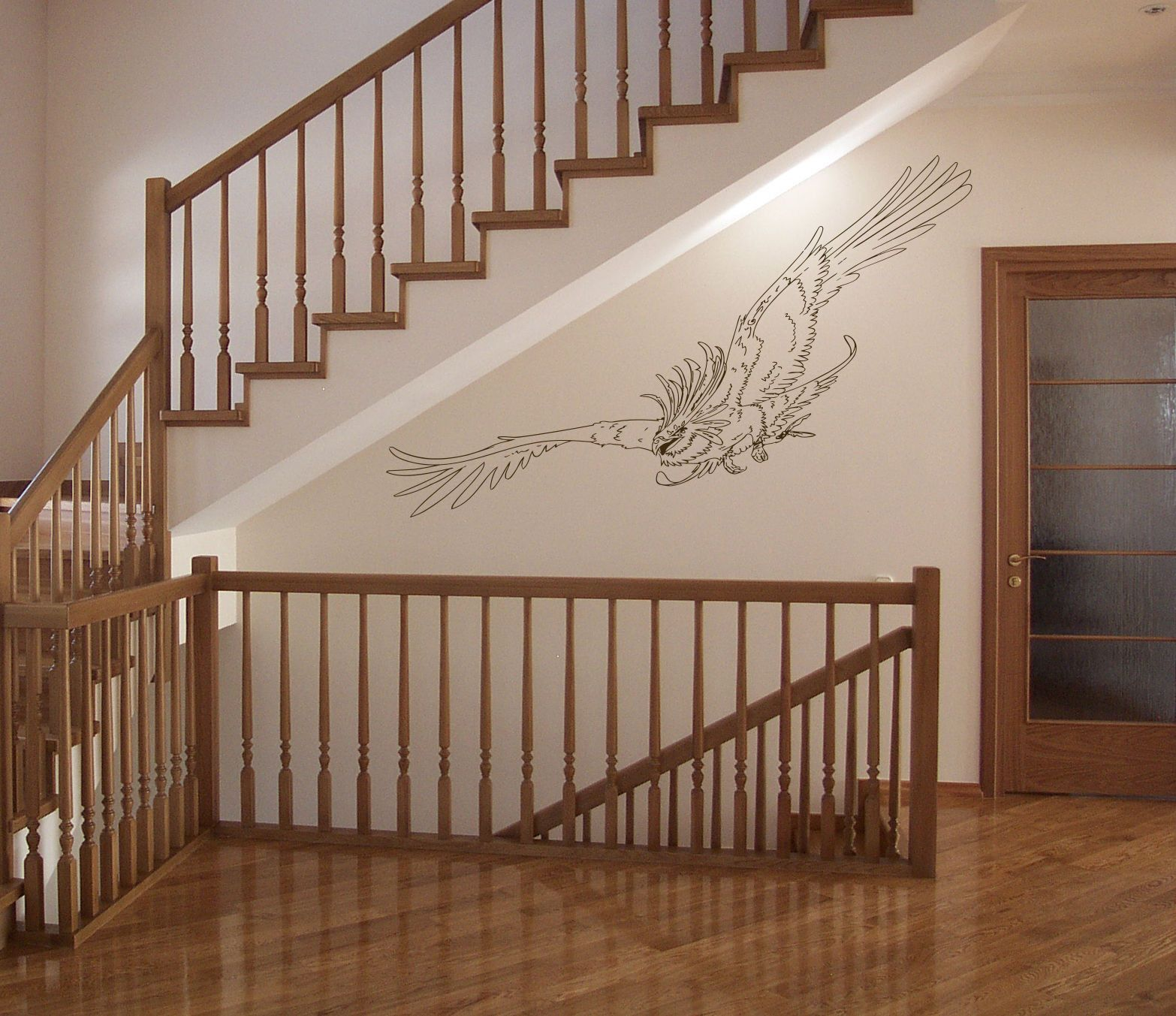 Anime decal Bird eagle Kids Room Children Stylish Wall Art Sticker 10180-2