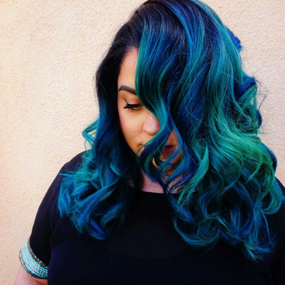 Pin by ivanna sierra on hairstyles pinterest bright hair and