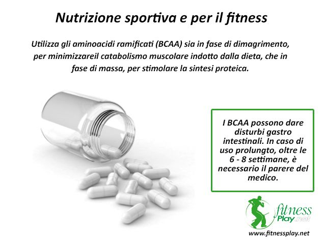 Gli aminoacidi BCAA