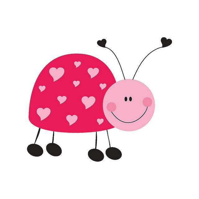 ladybug printable pdf template stationery set | Cute Ladybugs ...