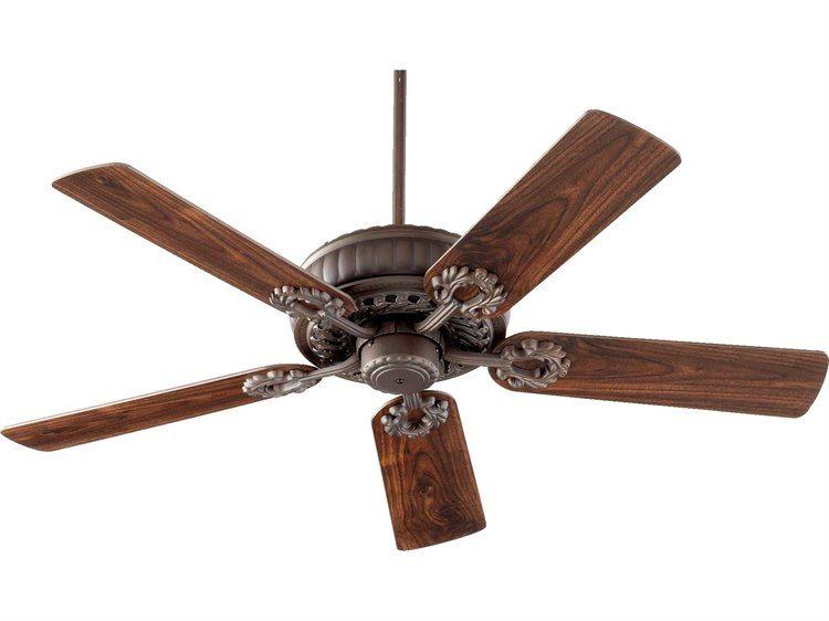 Quorum International Empress Oiled Bronze 52 Inch Indoor Ceiling Fan