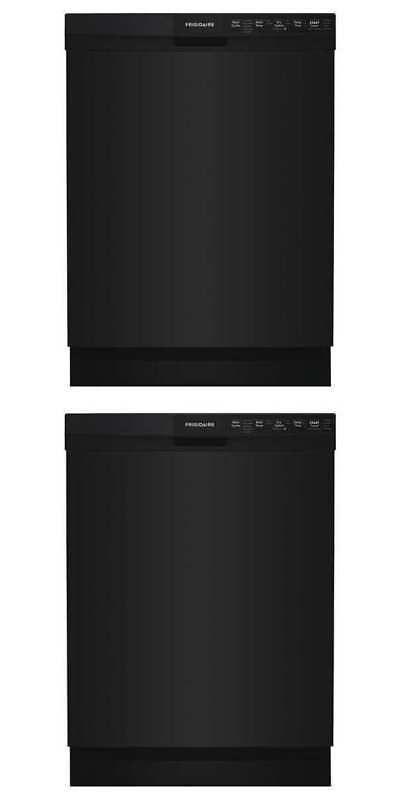 Dishwashers 116023 24 Built In Dishwasher W Hard Food Disposer Black Frigidaire Ffbd2418ub