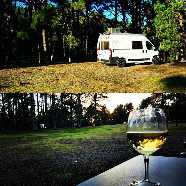 hochsaison berf llter campingplatz nicht auf elhierro. Black Bedroom Furniture Sets. Home Design Ideas