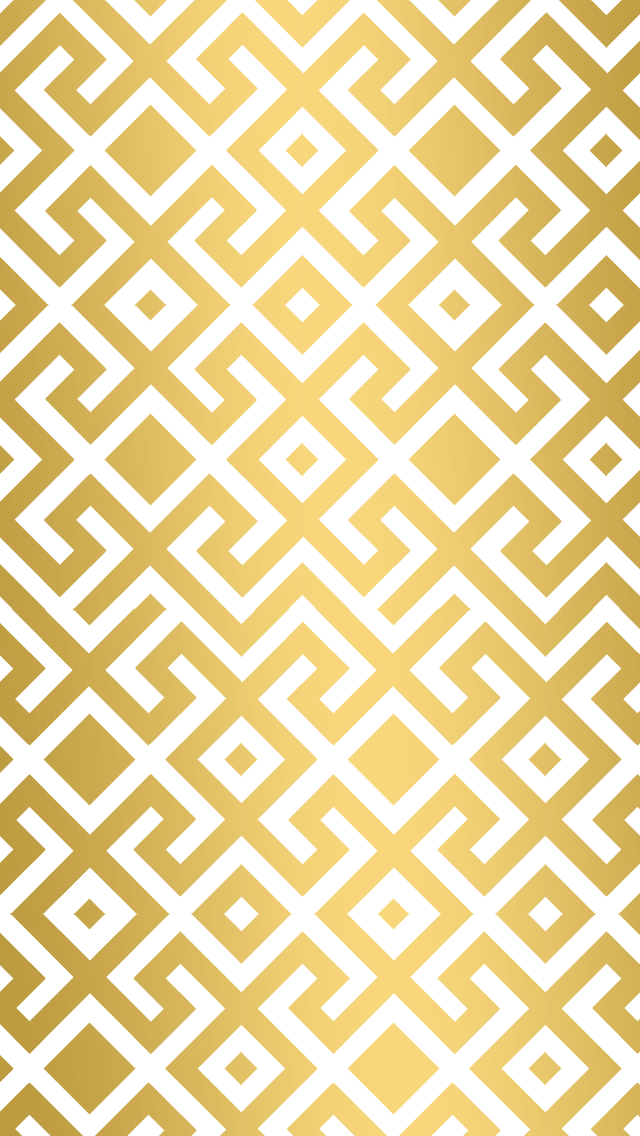 Gold geometric trellis iphone wallpaper phone background for Paper design wallpaper