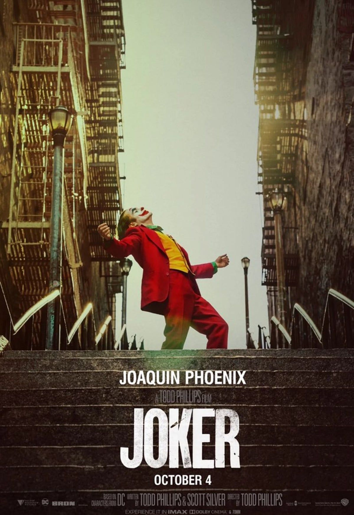 Joker Movie Poster In 2020 Joker Film Joker Full Movie Joker