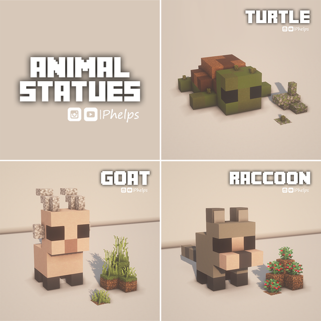 I made some statues for my friends! What do you th