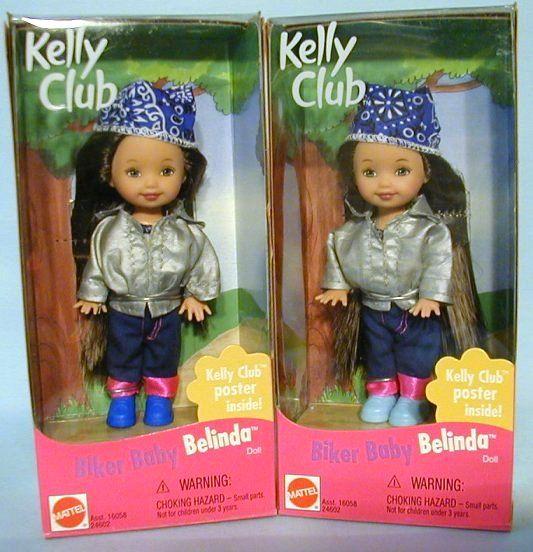 BIKER BABY BELINDA DARK BROWN HAIR KELLY CLUB