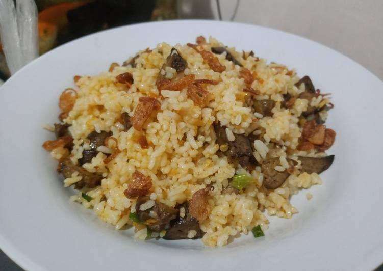 langkah langkah mengolah nasi goreng hati ayam mantap resep   resep masakan nasi Resepi Nasi Jagung Serai Enak dan Mudah