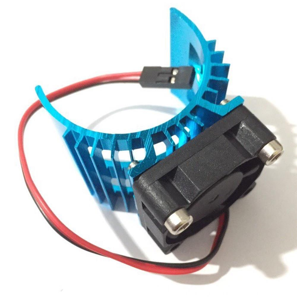 Hot On Sale Blue RC Parts Electric Car Motor Heatsink Cover + ...