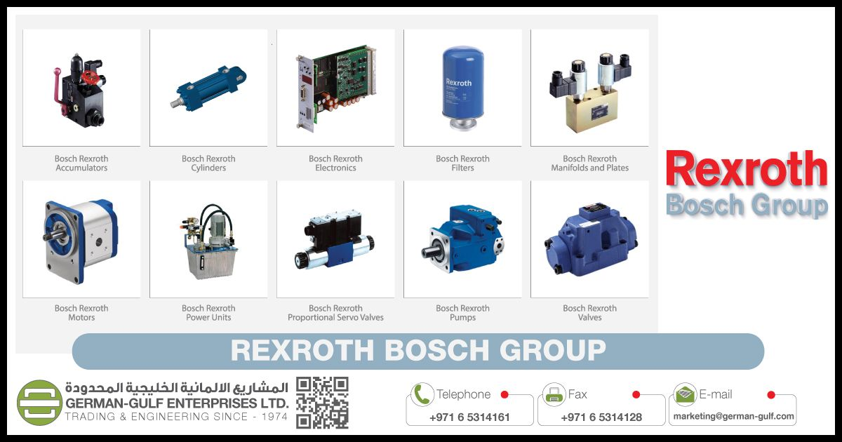 German-Gulf Enterprises in association with Bosch Rexroth are