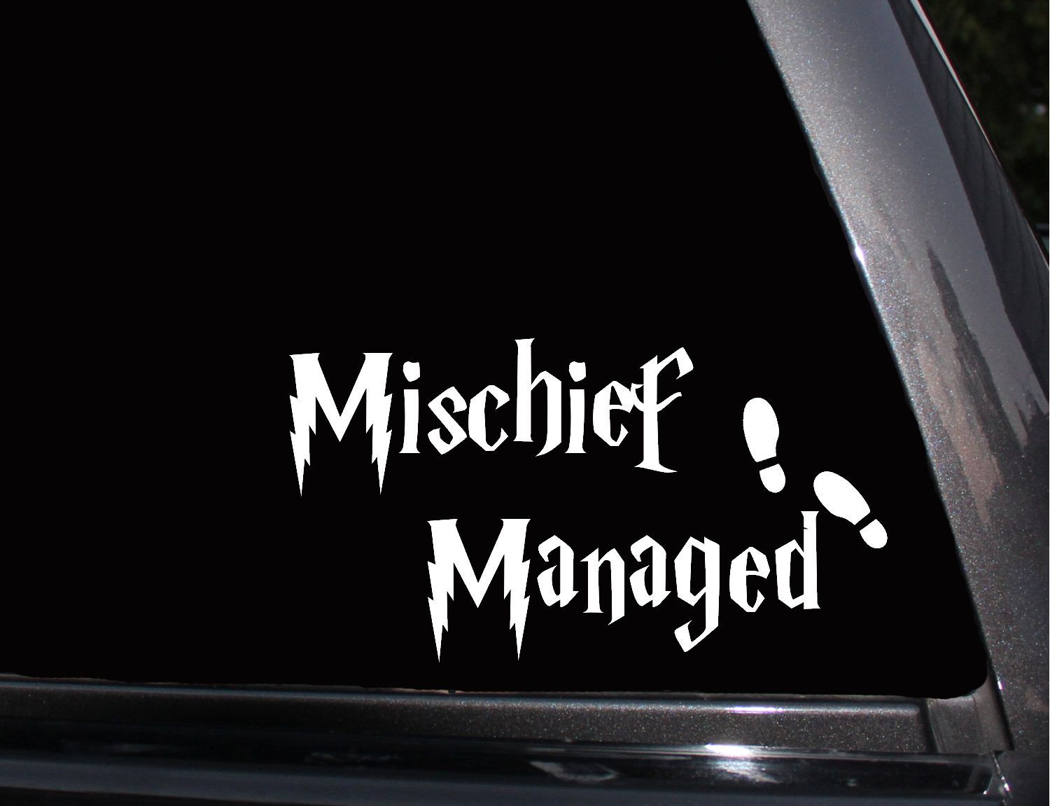 Michief Managed Harry Potter Vinyl Decal Phone Decal Laptop Decal Wall Decal Car Decal Car Decals Phone Decals Vinyl Decals [ 1151 x 1500 Pixel ]