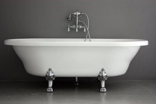 73 34 Hotel Collection Extra Large Double Ended Clawfoot Tub