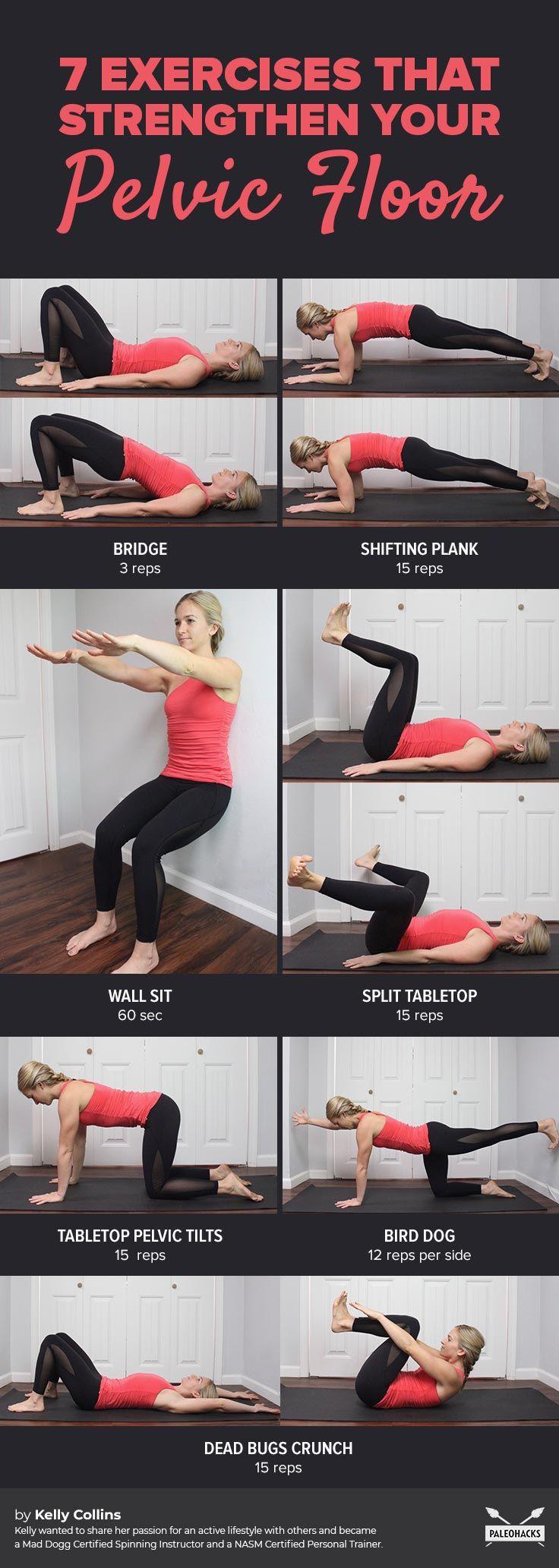 7 Exercises to Restore a Weak Pelvic Floor