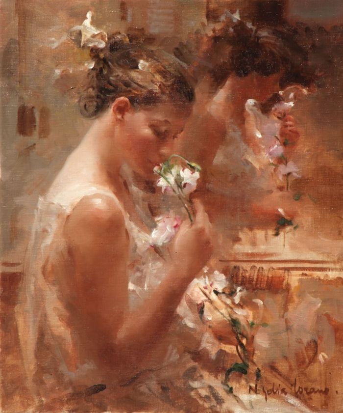 Pintura de Nydia Lozano - Espanha
