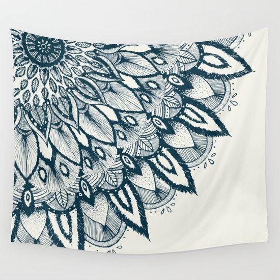 Mandala+Wall+Tapestry+by+Rskinner1122+-+$39.00