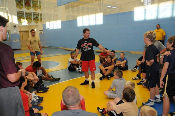 University of Maryland Wrestling Camp grapples at Cape